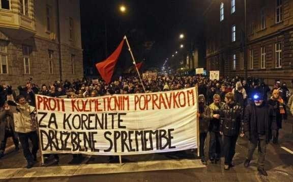 La Slovénie, ses squats, ses anarchistes...